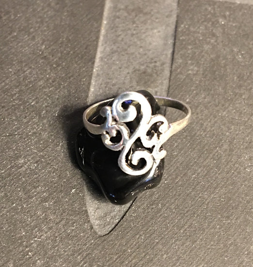 Sterling Silver (.925) Scroll Ring