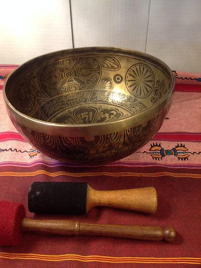 Large Himalayan Singing Bowl