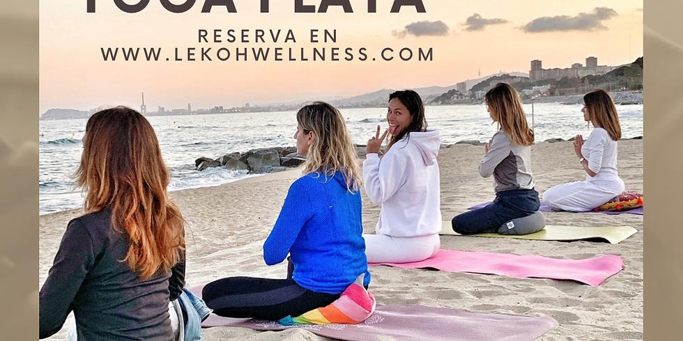 Kundalini Yoga en la playa de Sant Martí d´Empúries