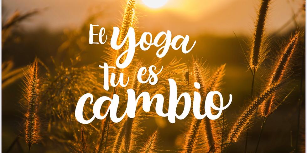 """RETIRO """"Yoga Es Tu Cambio"""""""