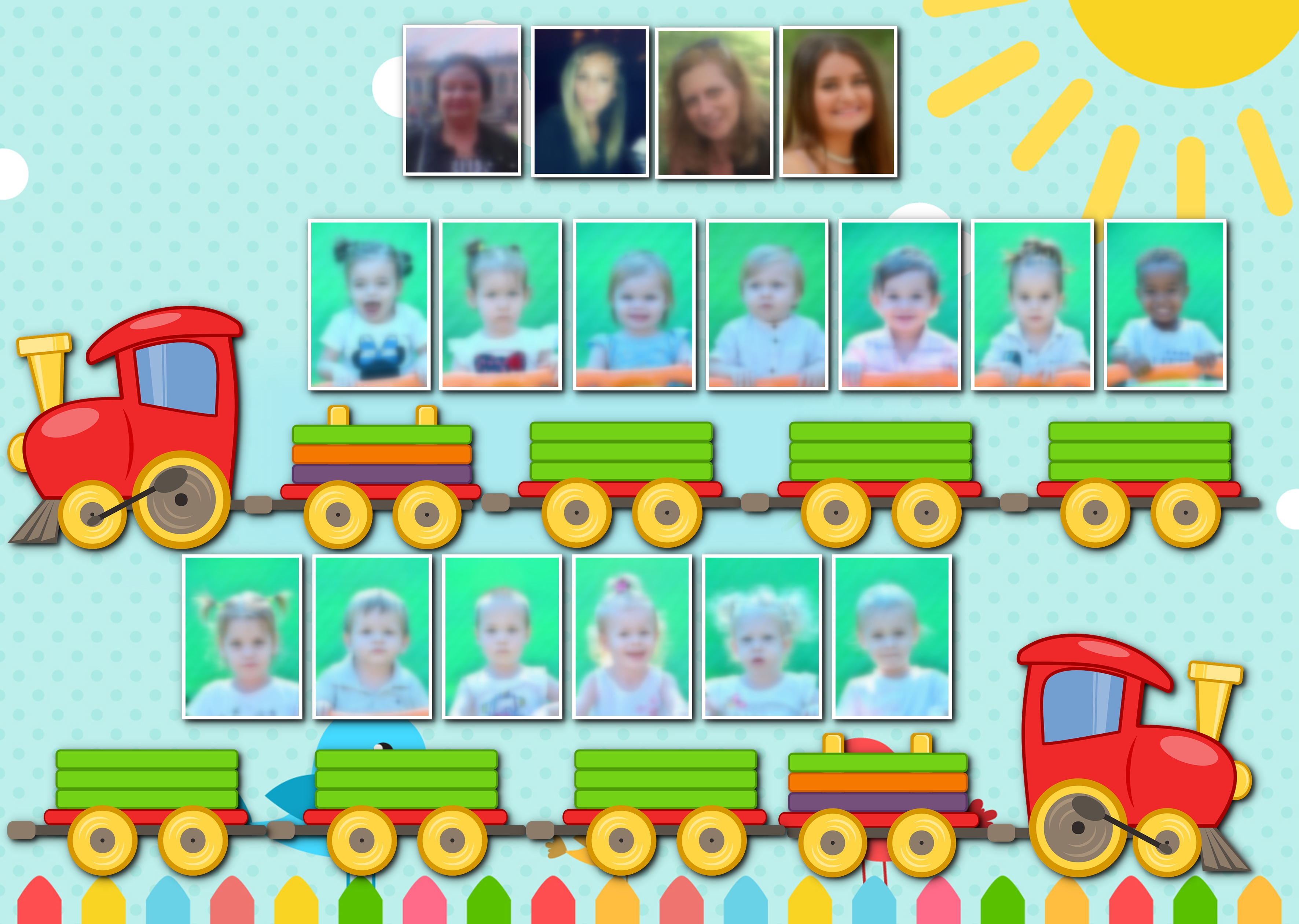 פולדר רכבת