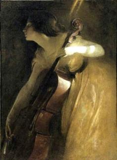 The Cellist after Alexander