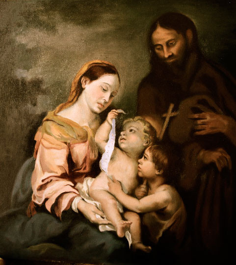 Holy Family with St. John
