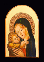 Virgin and Child in Gold
