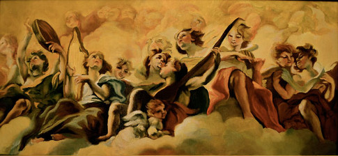 Angels Playing Music