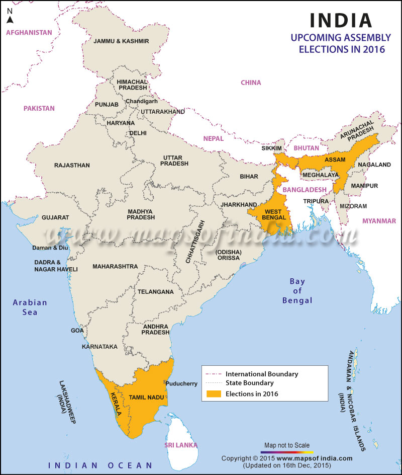 Assembly Elections 2016 Round One In The Battle Of The States