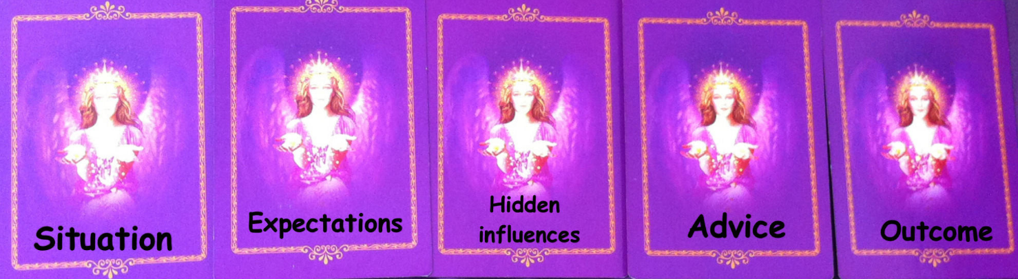 Angel card spreads