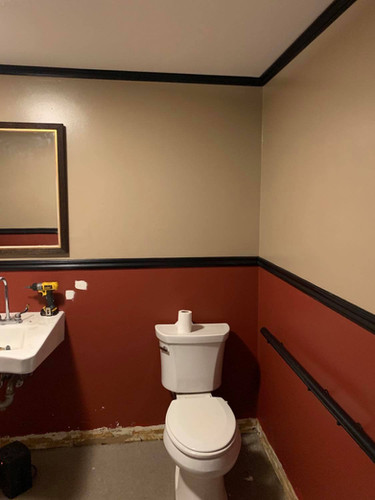 Bathroom Repainted