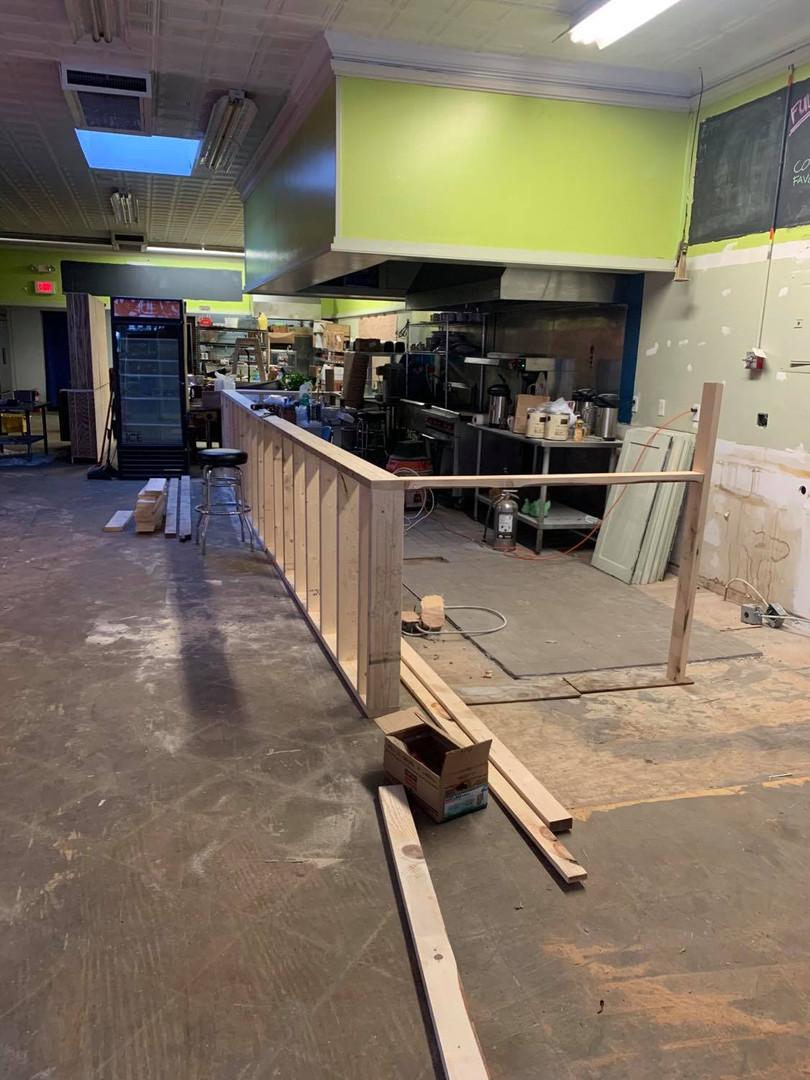 Counter Construction