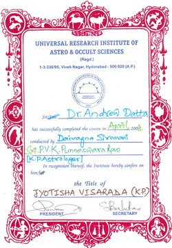 Jyotisha Visarada (KP)