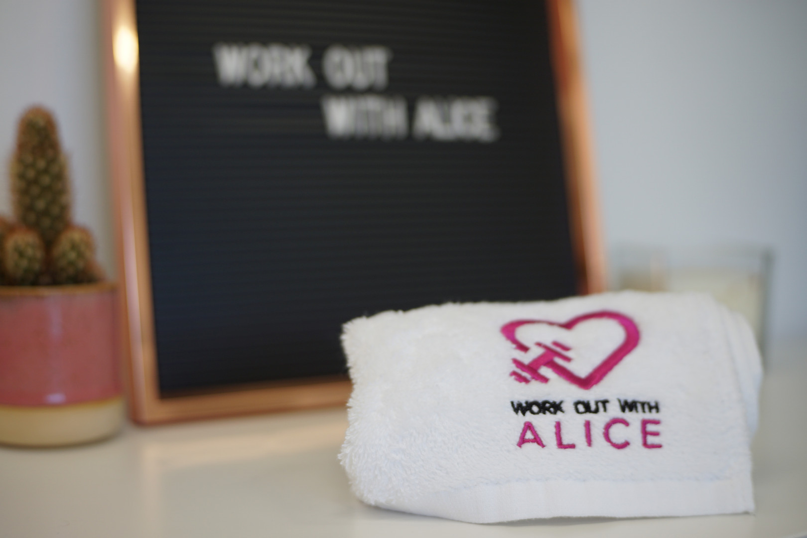 Work Out with Alice
