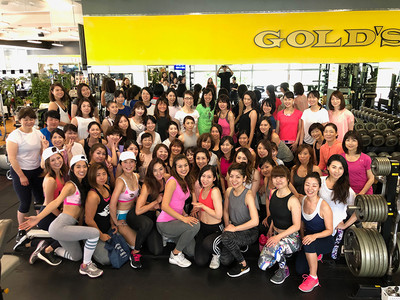 Fitness Angel Camp第五弾トレーニング終了。次回50人規模トレーニングはゴールドジム原宿東京店にて