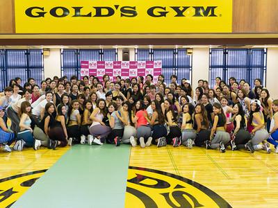 岡部 友の座学に加え、スティーブン・ヘインズによるセッションも行われ、ハッピーモードの中「Fitness Angel Camp 2018」全行程終了!