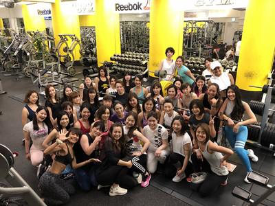 Fitness Angel Camp第三弾トレーニング終了。次回50人規模トレーニングはゴールドジム新神戸兵庫店にて