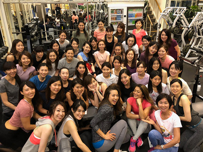 Fitness Angel Camp第六弾トレーニング終了。次回はいよいよ一斉トレーニングをゴールドジム東陽町スーパーセンター店にて開催