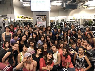 Fitness Angel Camp第二弾トレーニング終了。次回はゴールドジム銀座中央店で開催!