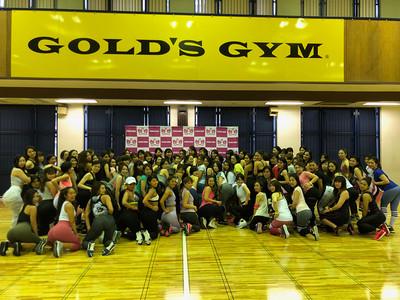 100人近くの参加者によるリレーも大盛況。Fitness Angel Camp第四弾トレーニング終了!