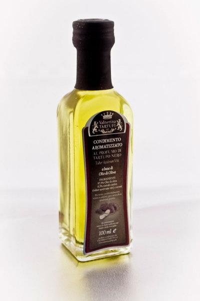 Olej ochucený černým lanýžem / Olio aromatizzato al Tartufo Nero