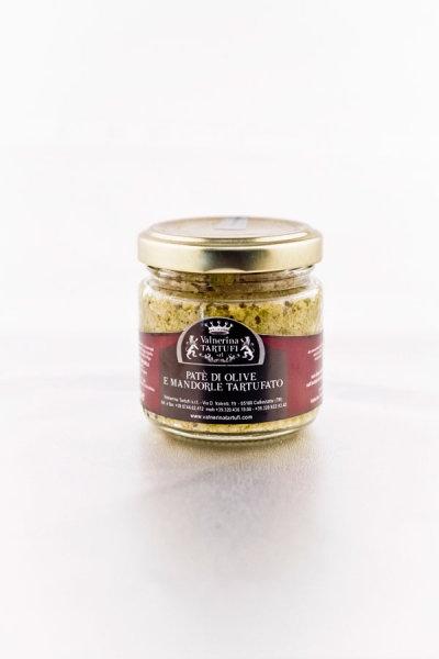 Lanýžová Paštika z oliv a mandlí / Patè di olive e mandorle tartufato