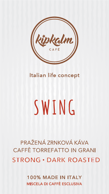 SWING Pražená Zrnková Káva 250g