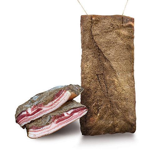 Vepřova slanina kořenená / Pancetta tesa nazionale stagionata cca 380g