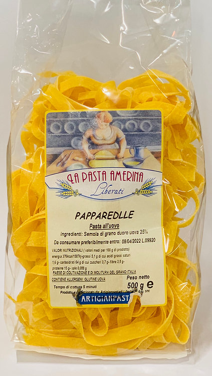 Pappardelle (Pasta all'uovo)