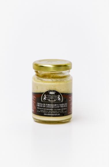Sýrový krém s lanýžem / Crema di formaggio e tartufi