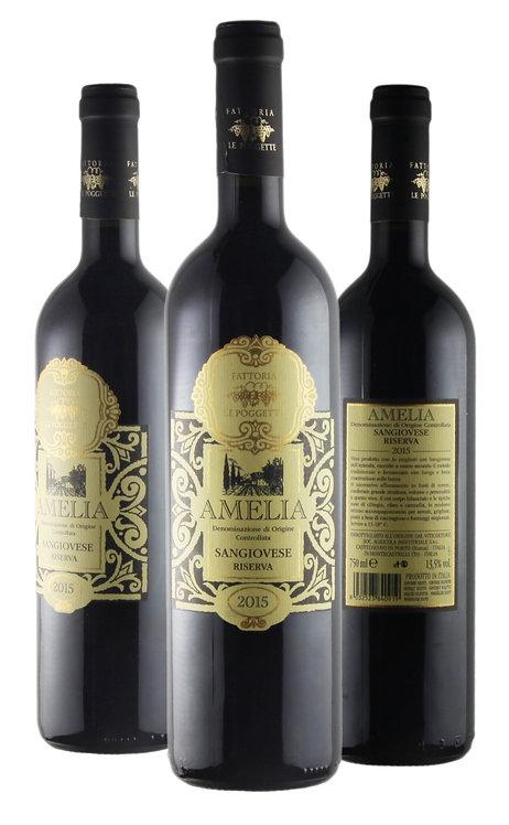 "Vino Rosso ""AMELIA SANGIOVESE RISERVA"""