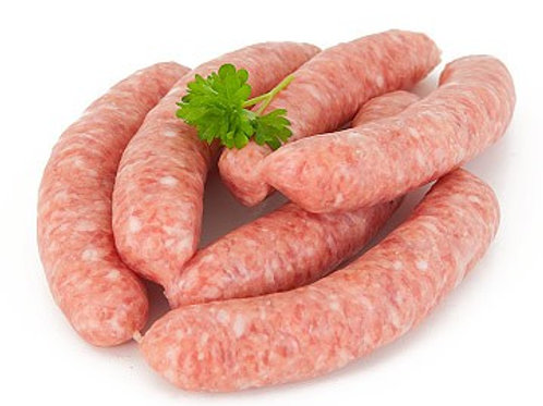 Pack of 6 Traditional Pork Sausages