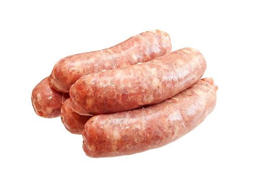 Pack of 6 Scrumpy Apple & Pork Sausages