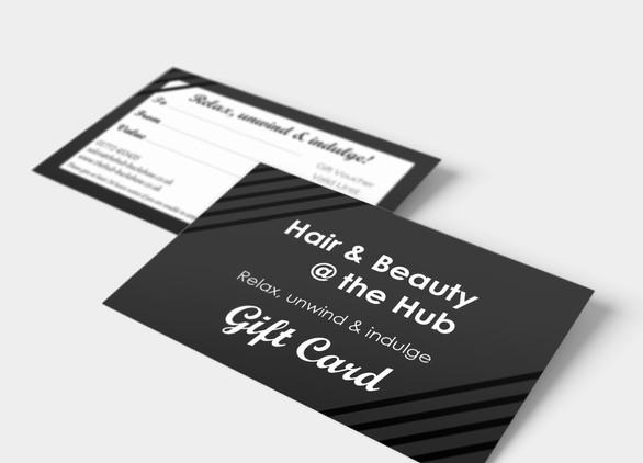 Hair & Beauty @ the Hub, Company Re-Branding Project
