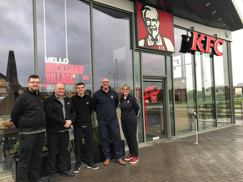 KFC, Company Launch Event Project