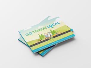 Go Trade Local Corporate Brochure Design & Branding Project
