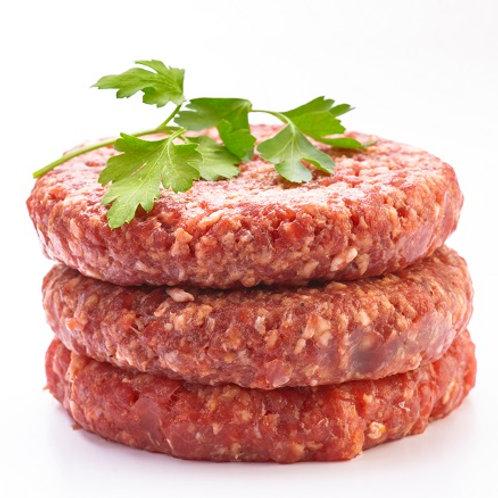 Pack of 4 Beef Burgers