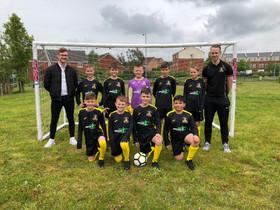 Sponsorhip of local school sports teams - Trinity Primary School, Buckshaw Village