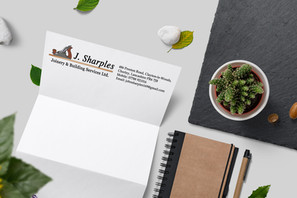 John Sharples Joinery & Building Services Ltd, Company Corporate Branding Project