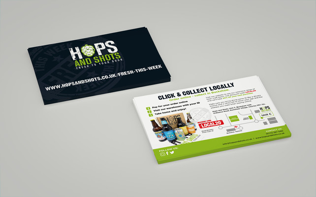 Hops and Shots, Company Advertising Project