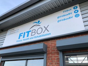 FitBox, Company Signage Project