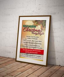 Harvester Restaurant, Event Branding & Advertising Project