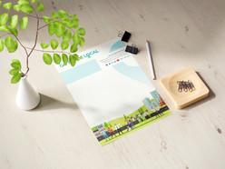 Go Trade Local Letterhead Design & Branding Project