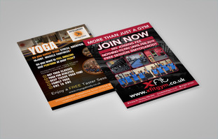 XFit Gym, Company Branding & Advertising Project
