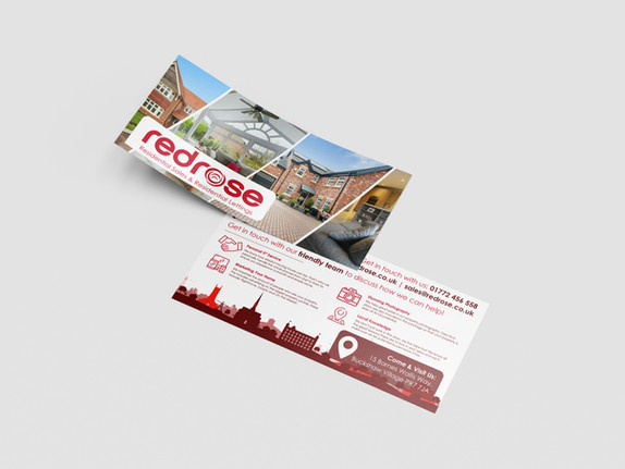 Redrose Estate Agents Branding & Advertising Project