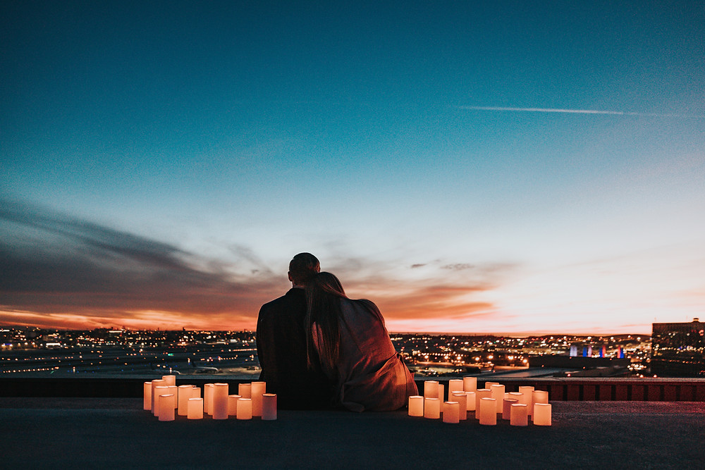 Romantic anniversary or proposal in Sydney