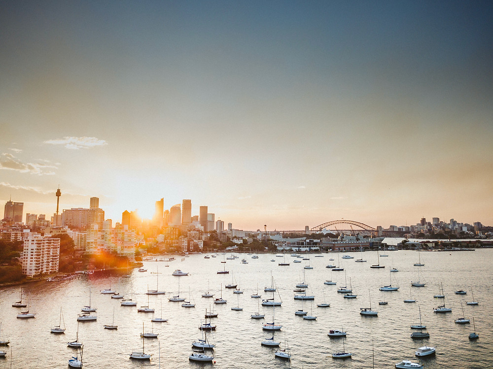 Best sunset view sydney from ferry yacht cruise