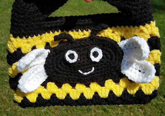 Buzzy Bee Purse Crochet  Pattern
