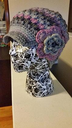 The Moxie Newsboy Crochet Hat Pattern