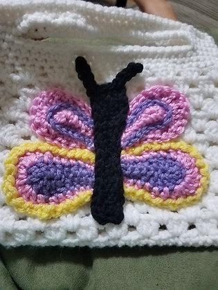 Bella Butterfly Purse Crochet Pattern