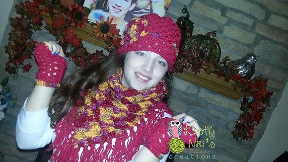 The Olivia Triangle Scarf Crochet Pattern