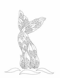 Mermaid Lily Tail
