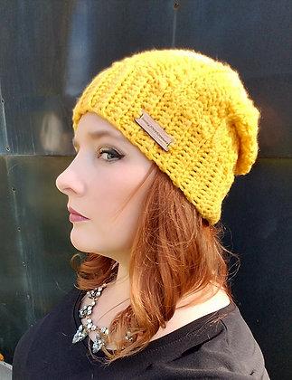 Sandy Slouch Crochet Hat Pattern